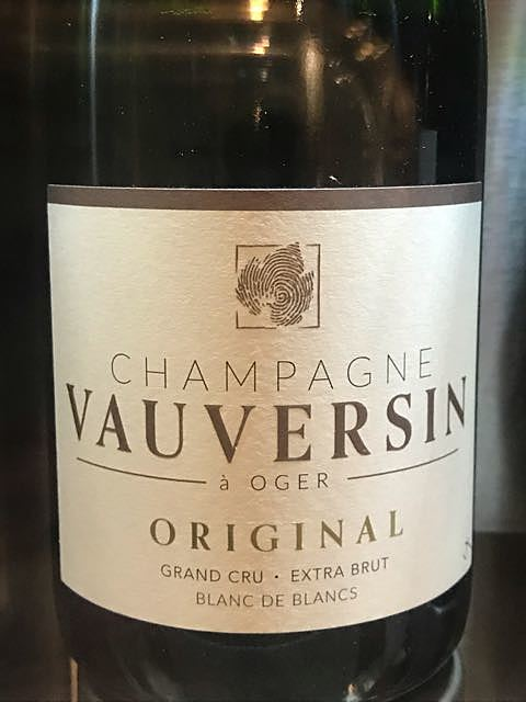 Vauversin Original Grand Cru Extra Brut(ヴォーヴェルサン オリジナル グラン・クリュ エクストラ・ブリュット)