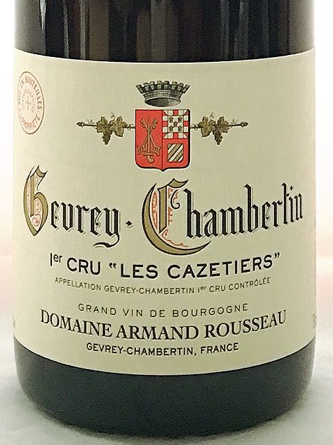 Dom. Armand Rousseau Gevrey Chambertin 1er Cru Les Cazetiers