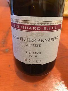 Bernhard Eifel Schweicher Annaberg Riesling Auslese