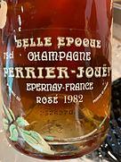 ペリエ・ジュエ ベル・エポック ロゼ(1982)