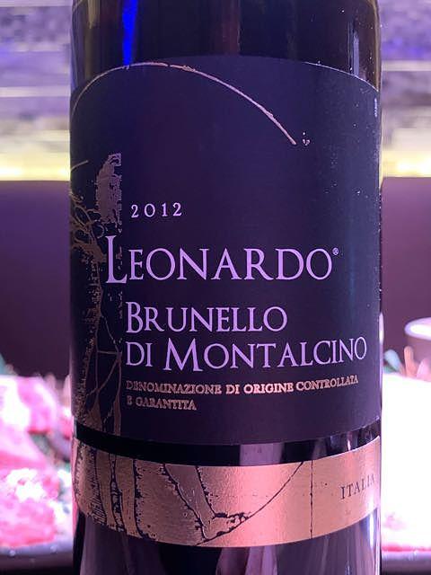 Leonardo Brunello di Montalcino(レオナルド ブルネッロ・ディ・モンタルチーノ)