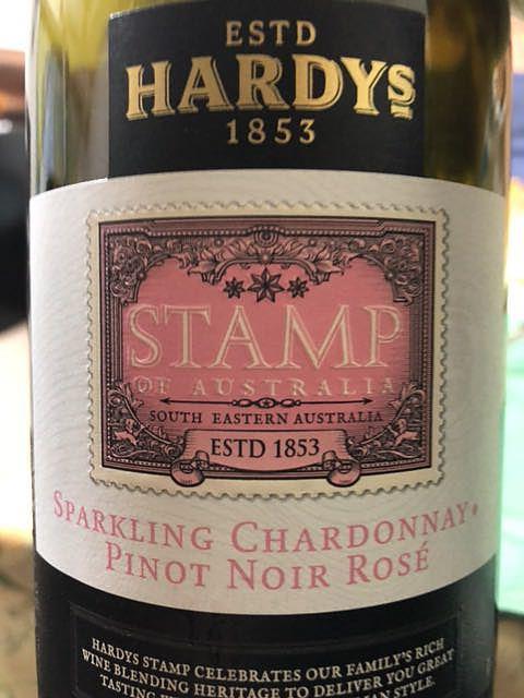 Hardys Stamp of Australia Sparkling Chardonnay Pinot Noir Rosé(ハーディーズ スタンプ・オブ・オーストラリア スパークリング シャルドネ ピノ・ノワール ロゼ)