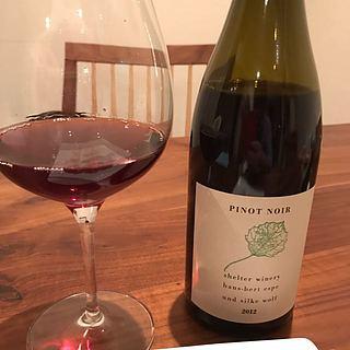 Shelter Winery Pinot Noir(シェルター・ワイナリー ピノ・ノワール)