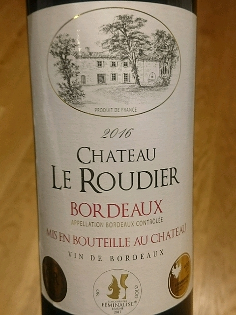 Ch. Le Roudier Bordeaux(シャトー・ル・ルディエ ボルドー)