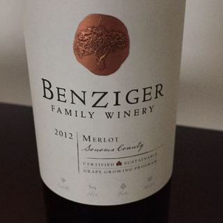 Benziger Family Winery Merlot Sonoma County(ベンジガー・ファミリー・ワイナリー メルロー ソノマ カウンティ)