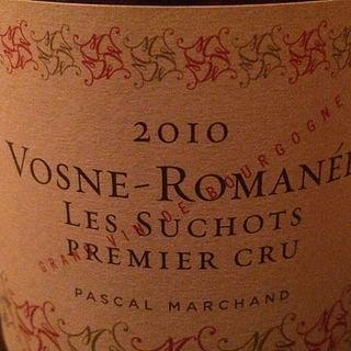 Pascal Marchand Vosne Romanée 1er Cru Les Suchots(パスカル・マルシャン ヴォーヌ・ロマネ プルミエ・クリュ レ・スショ)