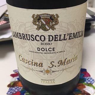 Cascina S. Maria Lambrusco dell'Emilia Rosso Dolce