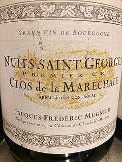 Jacques Frédéric Mugnier Nuits Saint Georges 1er Cru Clos de la Marechale Blanc