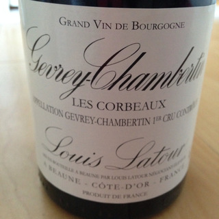 Louis Latour Gevrey Chambertin 1er Cru Les Corbeaux(ルイ・ラトゥール ジュヴレ・シャンベルタン プルミエ・クリュ レ・コルボー)