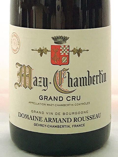 Dom. Armand Rousseau Mazy Chambertin Grand Cru