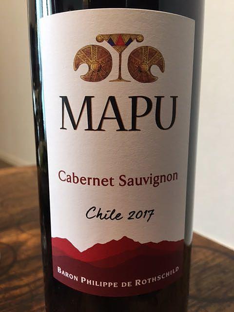 Mapu Cabernet Sauvignon(マプ カベルネ・ソーヴィニヨン)