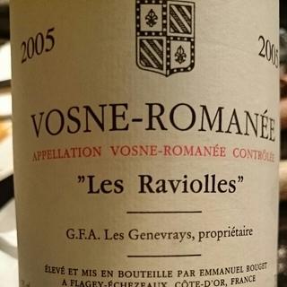 G.F.A Les Genevrays Vosne Romanée Les Raviolles