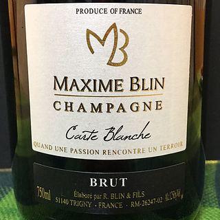 Maxime Blin Carte Blanche Brut
