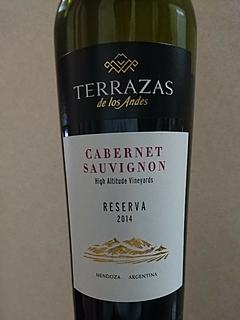 Terrazas De Los Andes Reserva Cabernet Vinica 無料のワイン