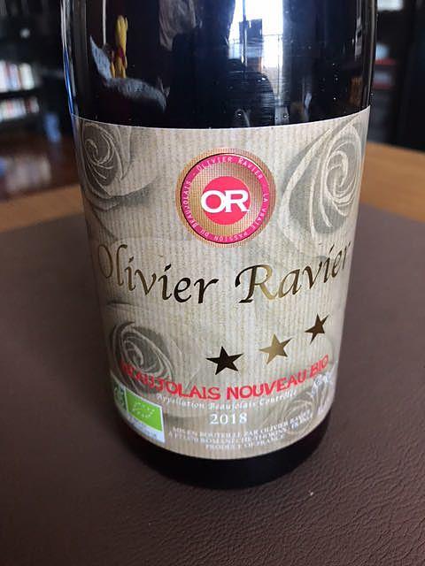 Olivier Ravier Beaujolais Villages Nouveau Bio(オリヴィエ・ラヴィエ ボージョレ・ヴィラージュ ヌーヴォー ビオ)