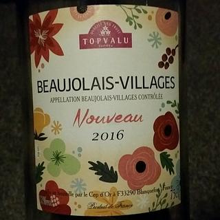 Topvalu Beaujolais Villages Nouveau