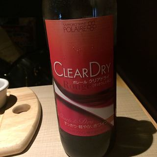 Polaire Clear Dry Rouge