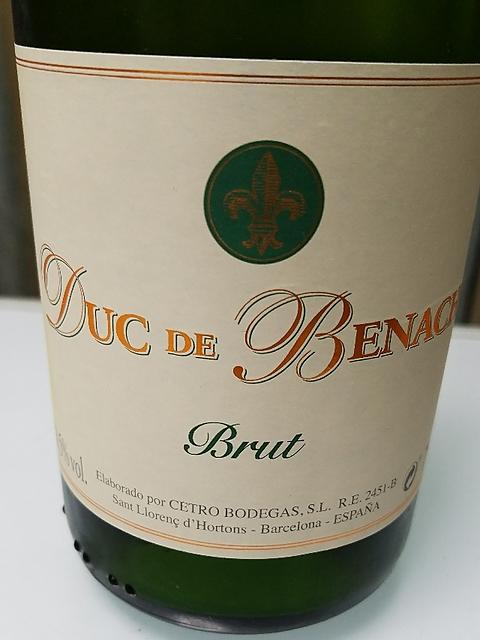 Duc de Benach Brut