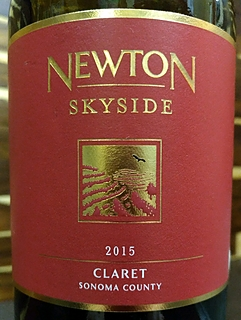 Newton Skyside Claret Sonoma County