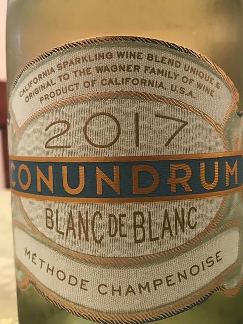 Conundrum Blanc de Blanc(コナンドラム ブラン・ド・ブラン)