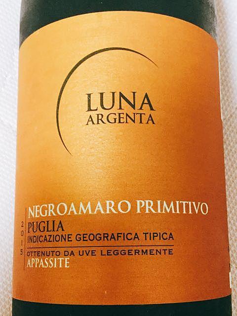 Luna Argenta Appassite Negroamaro Primitivo