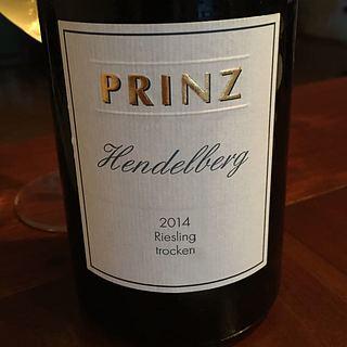 Prinz Hendelberg Riesling trocken