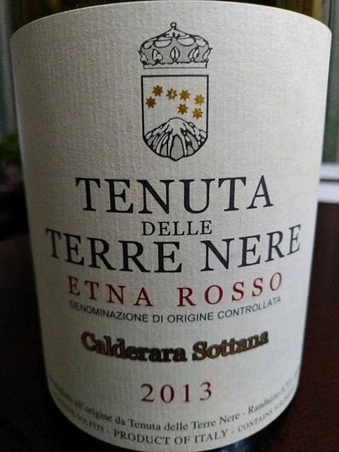 Tenuta delle Terre Nere Etna Rosso Calderara Sottana(テヌータ・デッレ・テッレ・ネレ エトナ・ロッソ カルデラーラ・ソッターナ)