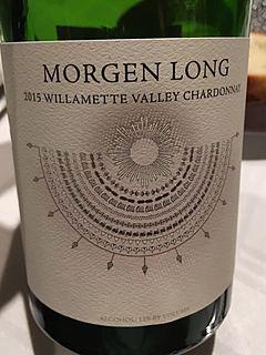 Morgen Long Willamette Valley Chardonnay(モーゲン・ロング ウィラメット・ヴァレー シャルドネ)