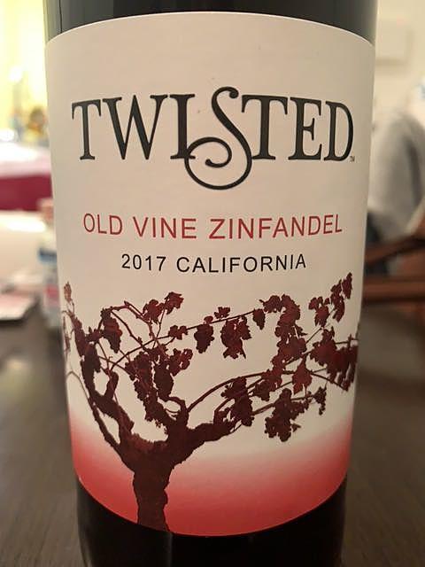 Twisted Old Vine Zinfandel(トゥイステッド オールド ヴィン ジンファンデル)