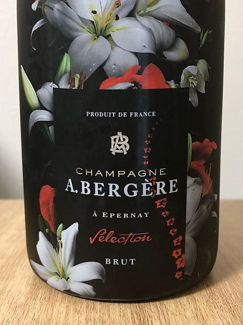 A. Bergere Selection Brut(アンドレ・ベルジェール セレクション ブリュット)