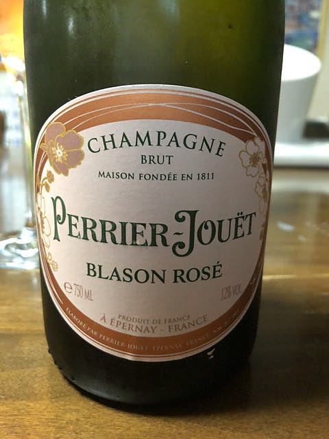 Perrier Jouët Blason Rosé(ペリエ・ジュエ ブラゾン ロゼ)