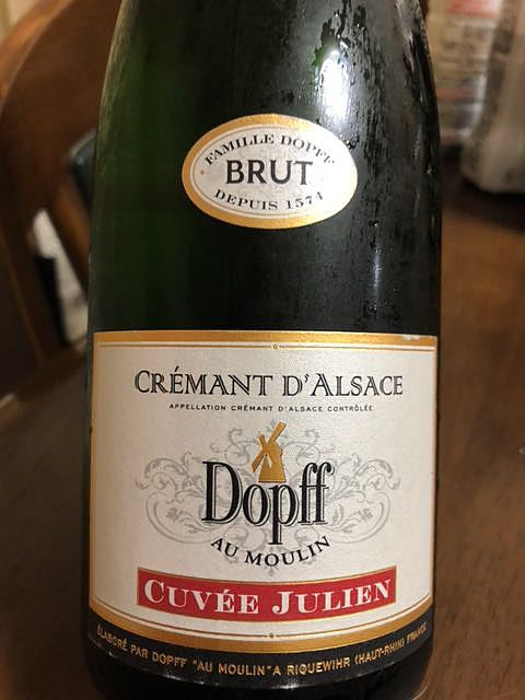 Dopff au Moulin Cuvée Julien Brut(ドップ・オ・ムーラン)