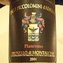 チャッチ・ピッコロミーニ・ダラゴーナ ブルネッロ・ディ・モンタルチーノ ピアンロッソ(2001)