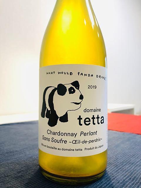 Dom. Tetta Chardonnay Perlant Sans Soufre Œil-de-Perdrix(ドメーヌ・テッタ シャルドネ・ペルラン サン・スフル ウイユ・ドゥ・ペルドリ)