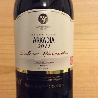 高畠ワイン Arkadia Select Harvest