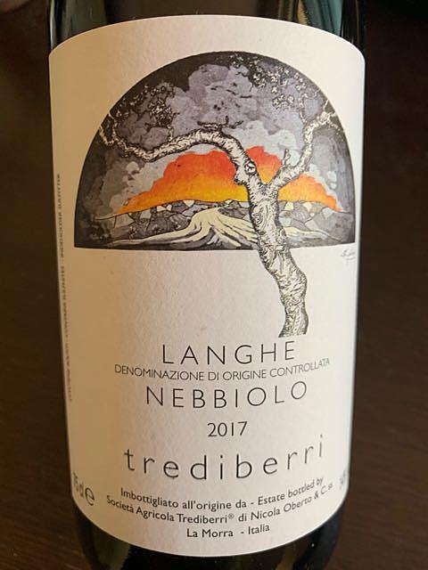 Trediberri Langhe Nebbiolo(トレディベッリ ランゲ ネッビオーロ)