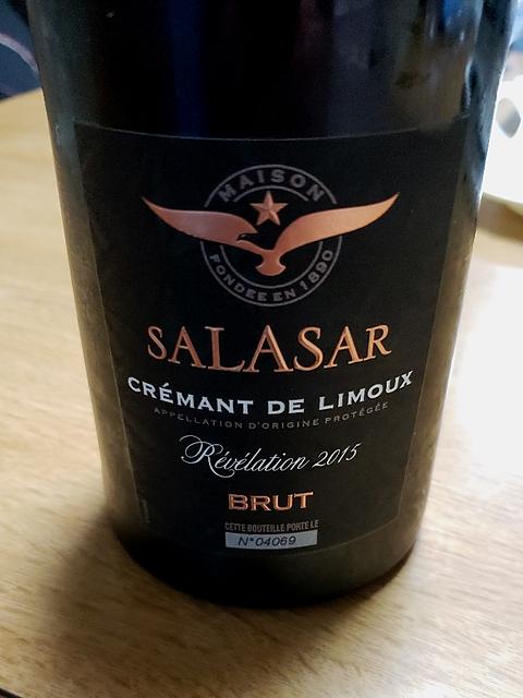 Salasar Crémant de Limoux Révélation Brut(サラザール クレマン・ド・リムー レヴェラシオン ブリュット)