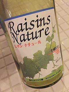 Kozawa Farm Raisins Nature 巨峰ロゼ