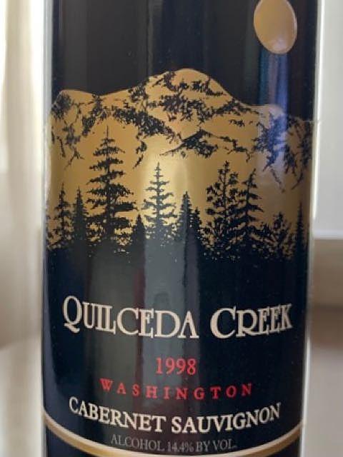 Quilceda Creek Cabernet Sauvignon 1998