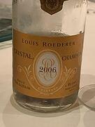 ルイ・ロデレール クリスタル ブリュット(2006)