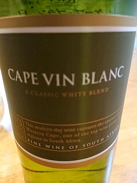KWV Cape Blanc(ケイ・ダブリュー・ヴィ ケープ・ブラン)