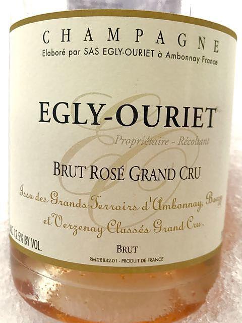 Egly Ouriet Brut Rosé Grand Cru(エグリ・ウーリエ ブリュット・ロゼ グラン・クリュ)