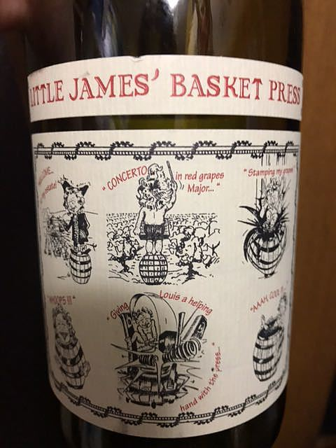 Saint Cosme Little James' Basket Press Red