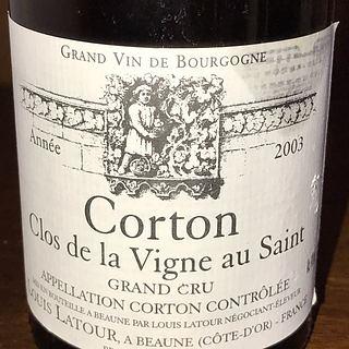 Louis Latour Corton Clos de la Vigne au Saint Grand Cru