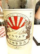 河内葡萄酒 デラウェア(2017)