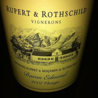 Rupert & Rothschild Baron Edmond 2007