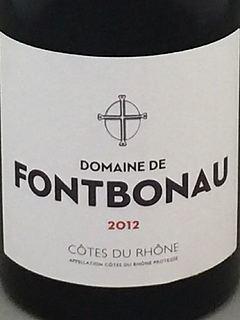 Dom. de Fontbonau Côte du Rhône(ドメーヌ・ド・フォンボノー コート・デュ・ローヌ)