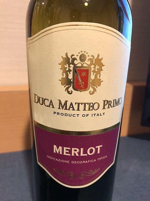 Duca Matteo Primo Merlot