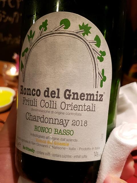 Ronco del Gnemiz Chardonnay