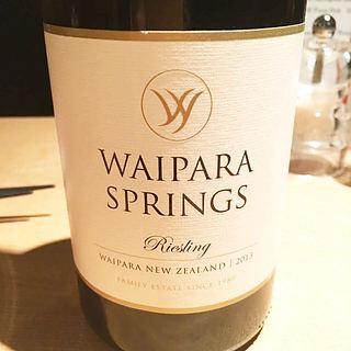 Waipara Springs Riesling